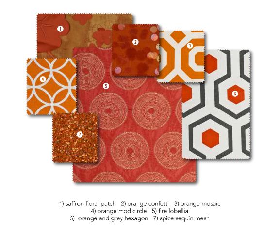 Saffron & Burnt Orange